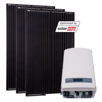 Grid-Kit Comfort SolarEdge/Ja-Solar 15 Modules